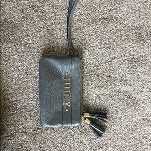 Juicy Couture Iridescent Wallet wristlet
